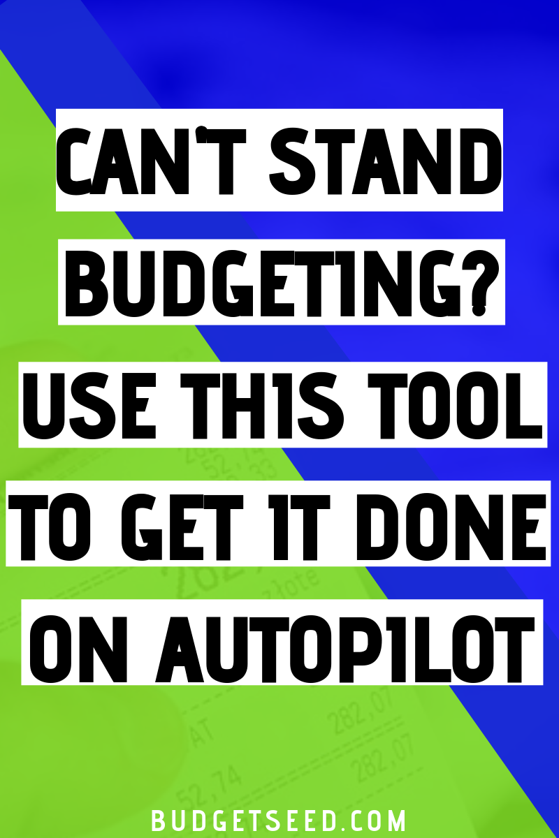 Use this tool called Tiller Money to budget your finances on