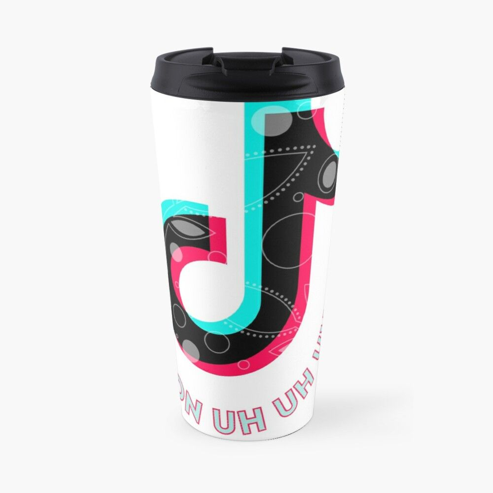 Von Uh Uh Uh Tiktok Travel Mug By Themoonsters In 2021 Mugs Travel Mug Car Cup Holder