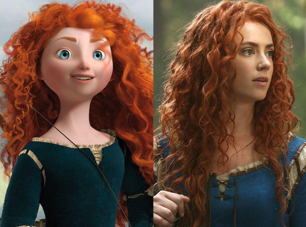 Brave from Animated Disney vs. LiveAction Disney Live