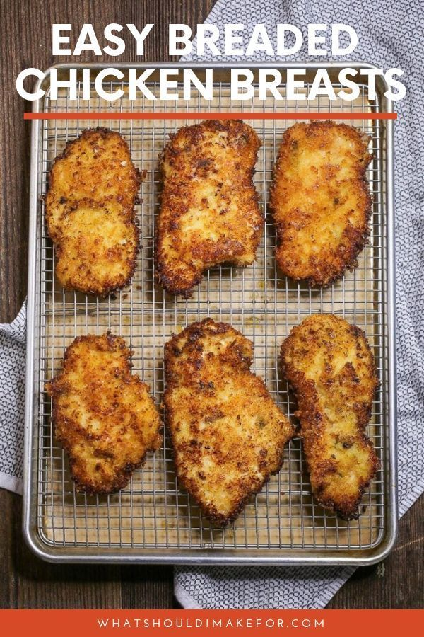 Breaded Baked Chicken Recipes Parmesan Crusted