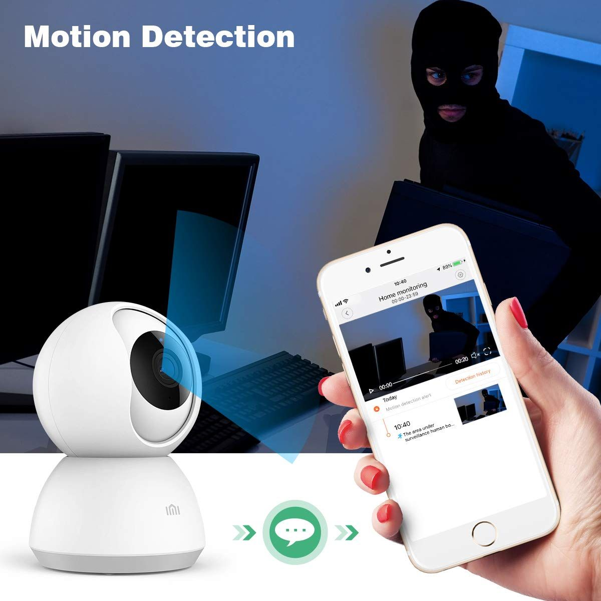 Imi 1080p Wireless Home Security Camera See This Great Product It Is An Affiliate In 2020 Wireless Home Security Cameras Security Cameras For Home Security Camera
