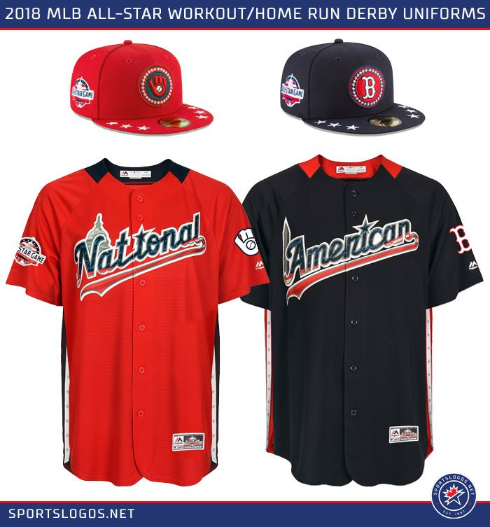 reputable site 849fb 2aed9 MLB Unveils 2018 All-Star Uniforms: Stars, Stripes, and ...