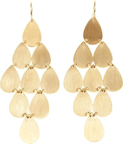 Irene Neuwirth Yellow-gold chandelier earrings