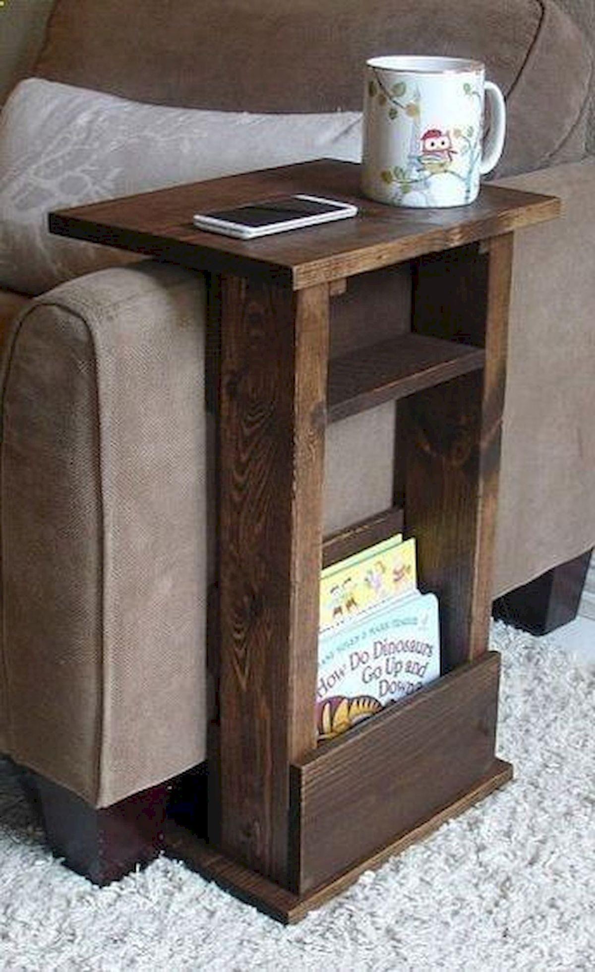 60 Fantastic DIY Projects Wood Furniture Ideas #wood