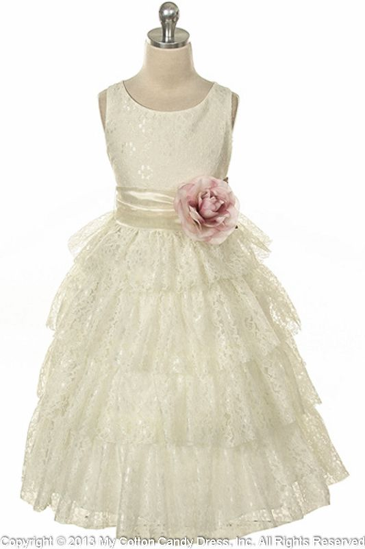 1000  images about Flowergirl dresses on Pinterest | Ivory flower ...