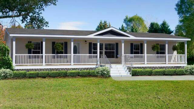 Pin by tonya willaims on tonya 39 s dream homes mobile home - Front porch designs for modular homes ...