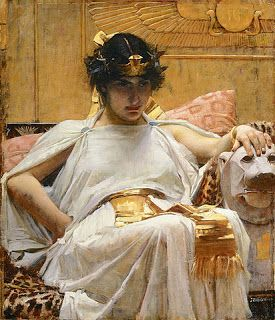 Vault of the Mountain King: Waterhouse, John William -Cleopatra_-_