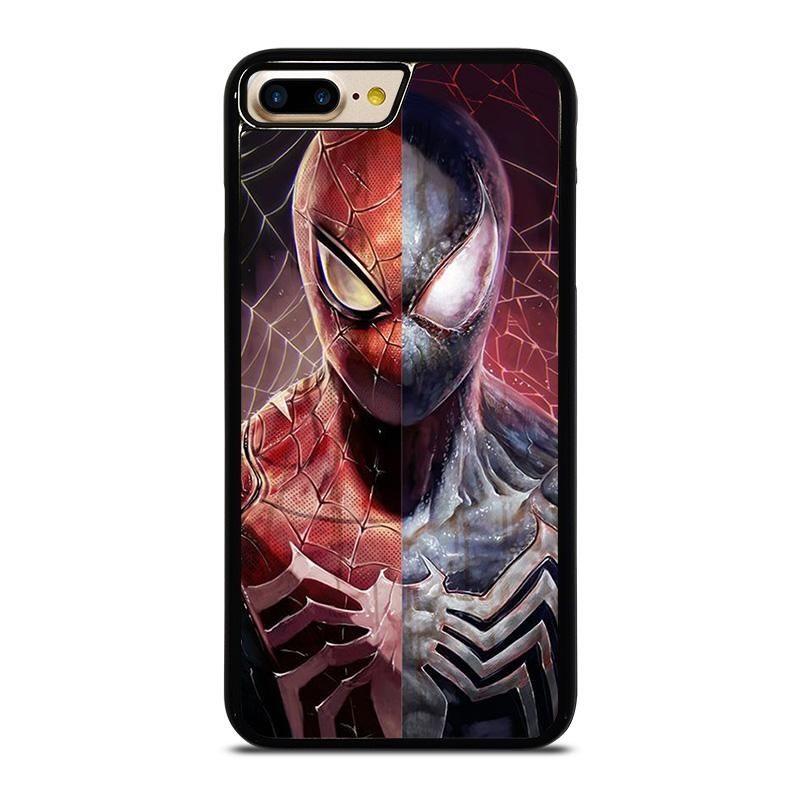 AMAZING SPIDERMAN RED AND BLACK iPhone 7 Plus Case Cover ...