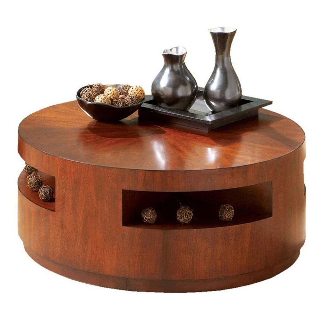 Rustic round coffee table rustic round coffee table with storage  coffee cocktail u end