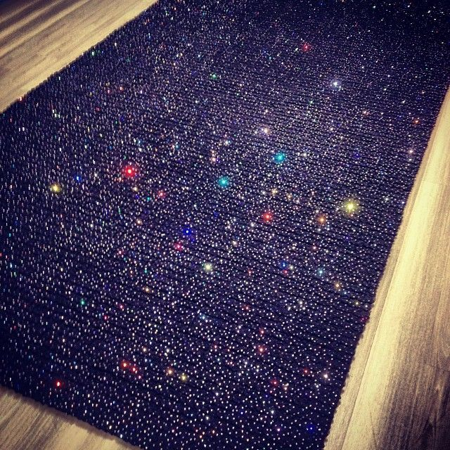 Purple Sparkle Rug