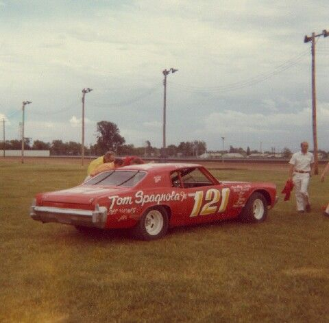 Don Hoffman At The Davenport Speedway Old Race Cars Race Cars Vintage Racing