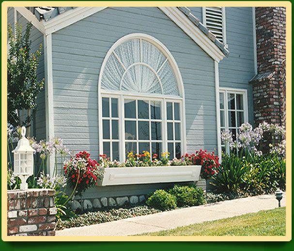 I Love The Window Planter The Window Gorgeous Combination Modern Window Design Window Design House Window Design
