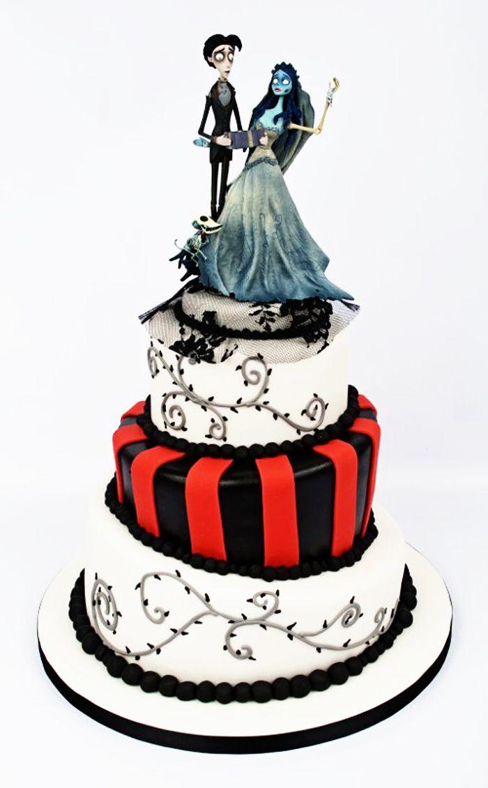 tim burton corpse bride wedding cake   Disney Wedding Cakes ...