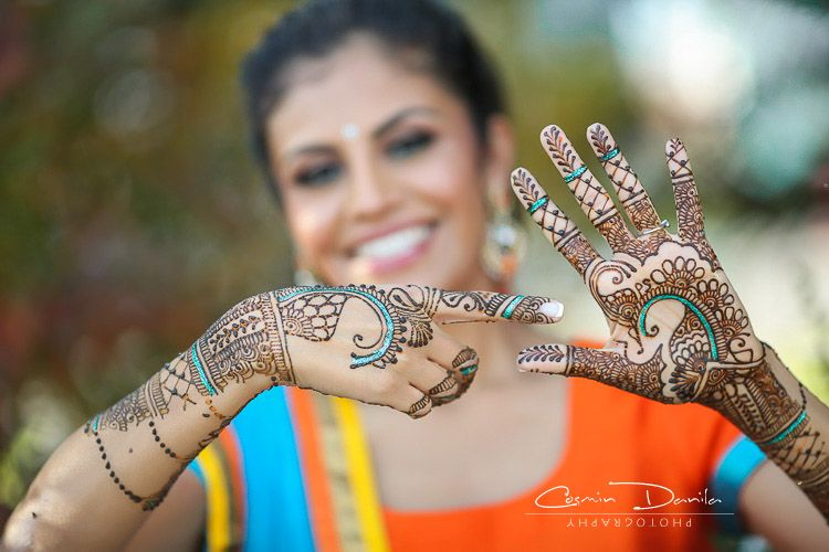 Bridal Mehndi West Midlands : Can you find parjeet in kirans palm? punjabi wedding rituals