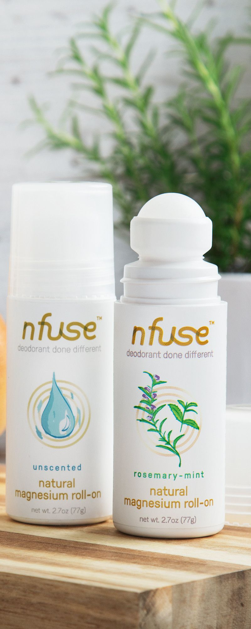 Nfuse AllNatural Magnesium Deodorant  Health and Wellness