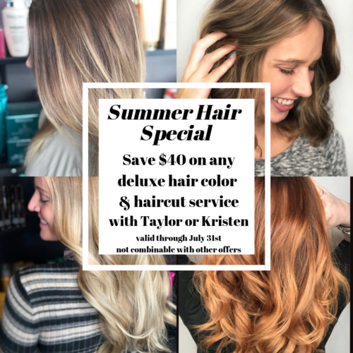 Summer Hair Special Balayage Savings Hair Promotion Maple Grove Minnesota Plymouth Minneapolis Champlin A Summer Hairstyles Best Salon Reverse Balayage