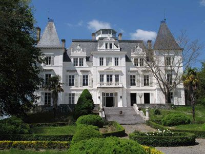 French Chateau For Sale In 64 Pyrenees Atlantiques Aquitaine France This Delightful Chateau Built In 1888 Stands In 16 Ha Of Land With A Swimming Pool A