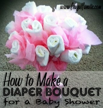 25 Diy Baby Shower Gifts Diaper Bouquet Diy Baby And Frugal