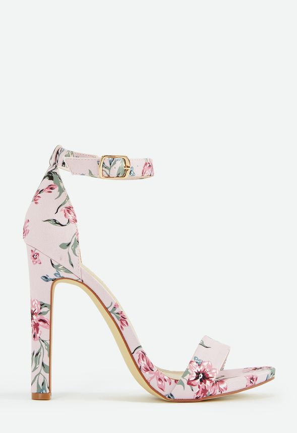 5f103c2da22197 Kati Heeled Sandal in Blush Floral - Get great deals at JustFab ...