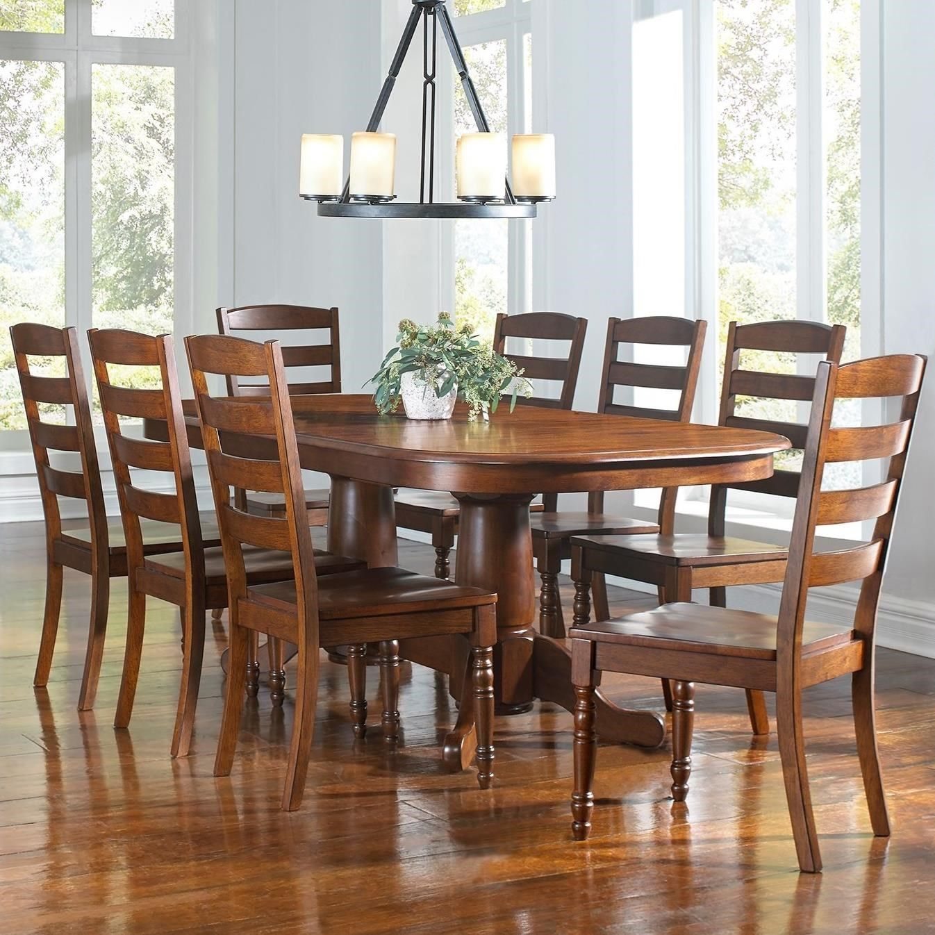 roanoke 9 piece dining set by aamerica home ideas pinterest