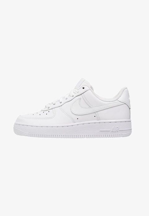 san francisco b3a71 f6930 Nike Sportswear AIR FORCE 1  07 - Trainers - white - Zalando.co.uk