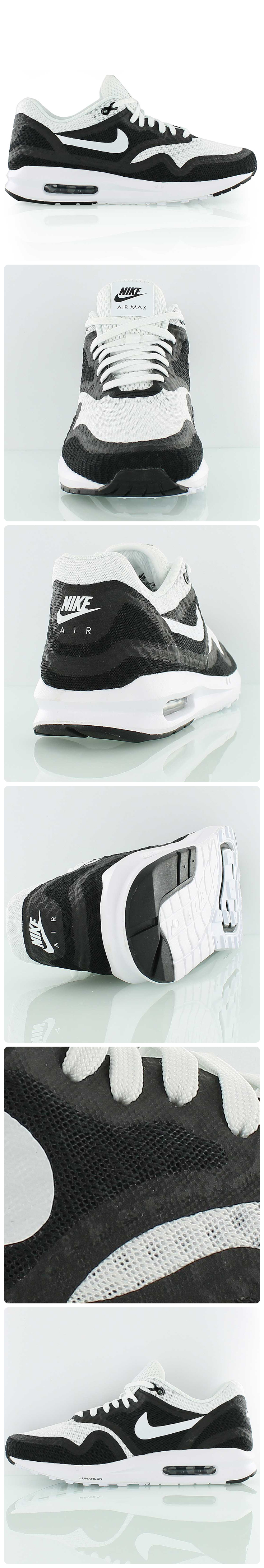 wholesale dealer 6cf63 5b8cd Are you ready for the smoothest ride of the season  Nike Air Max Lunar 1 BR  white black. With the iconic Air unit plus a soft Lunarlon midsole.