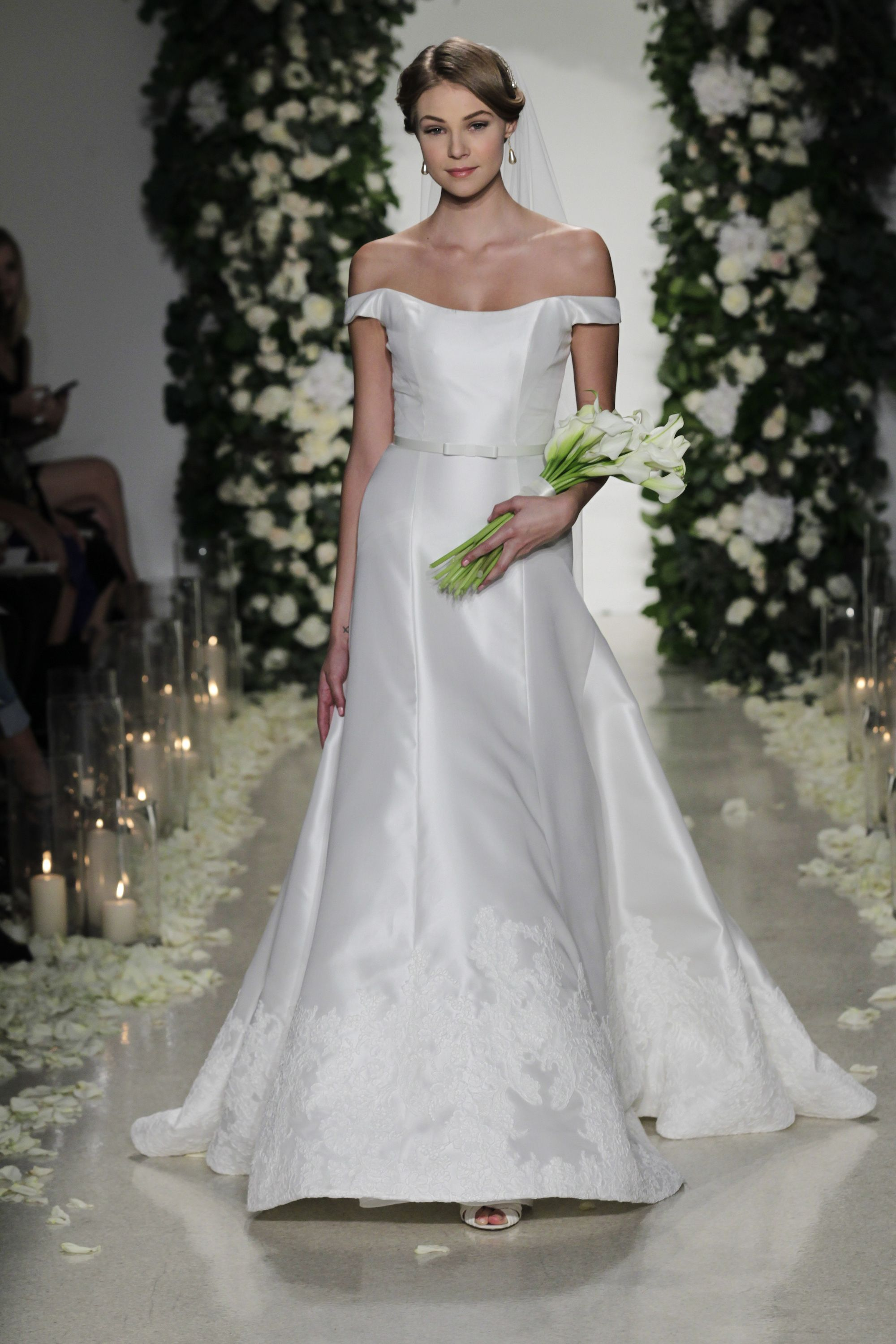 Hottest trends from bridal week fall anne barge fall