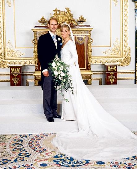 Prince Edward Sophie Rhys Jones Royal Wedding Dress Royal Wedding Gowns Royal Brides