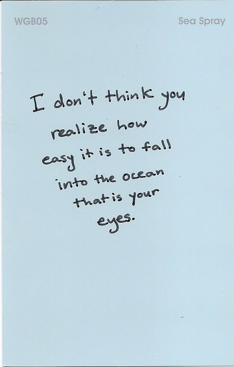 The Ocean That Is Your Eyes Eyes Quotes Love Your Eyes Quotes Quotes
