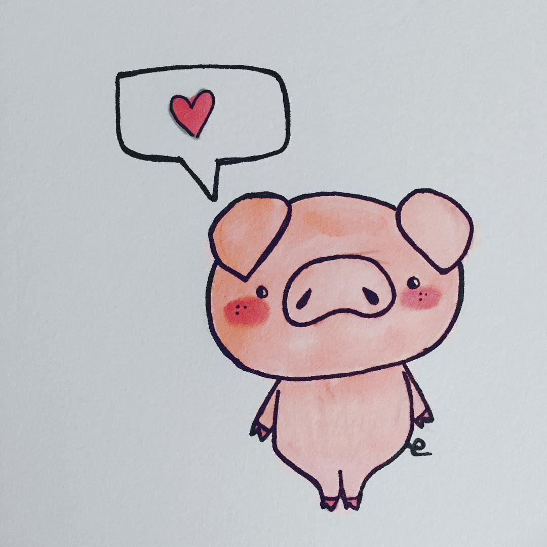 Pin De Tara Farand En Pigs Cerditos Dibujo Paso A Paso Cerdos