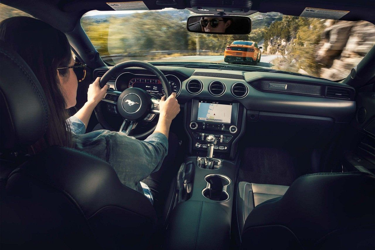 Premium Plus Package In The 2018 Mustang Includes Navigation