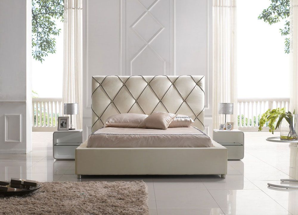 Headboard Design Ideas Part - 18: Modern Contemporary Platform Beds - Modern Headboard For Bed Designs Ideas  Bedroom Design