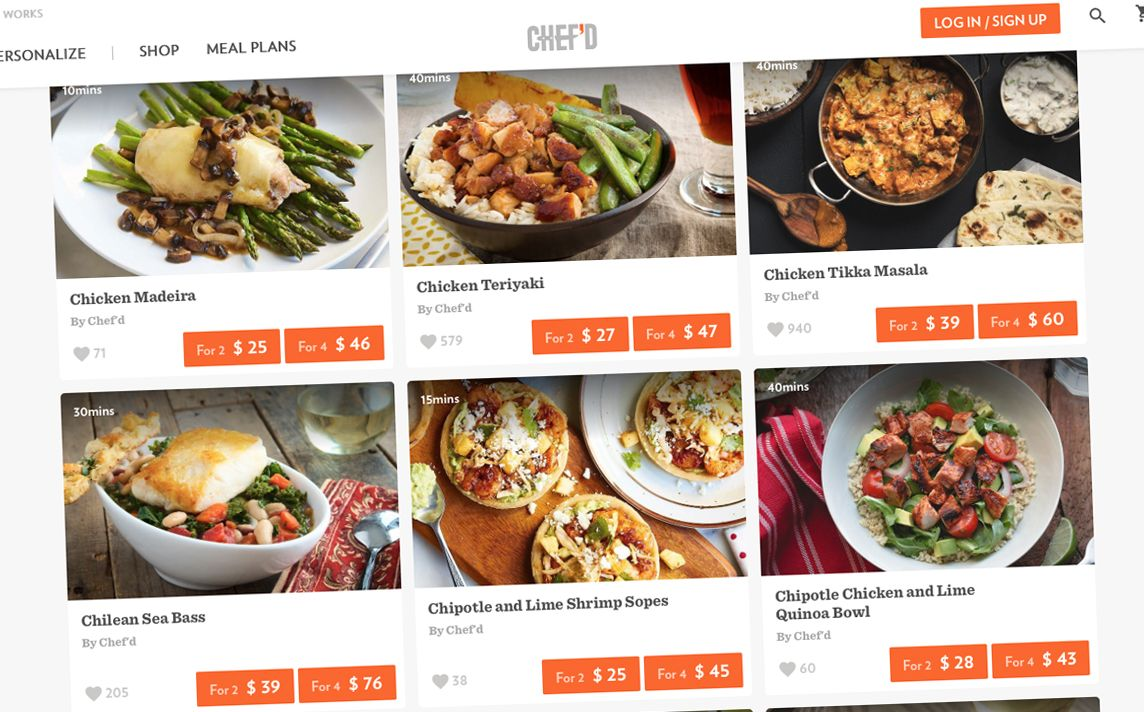 Campbell's invests 10m in meal kit upstart Chef'd Meal