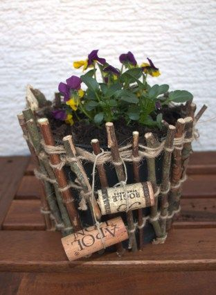2 Simple And Creative Ideas For Decorating Flower Pots Decorated