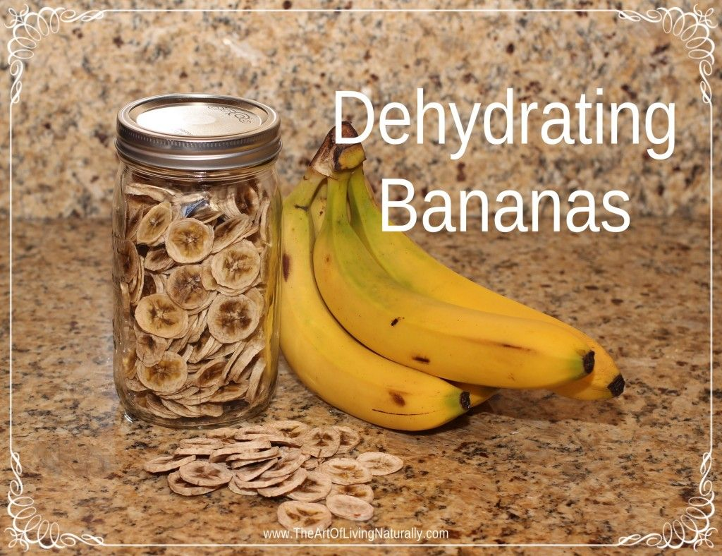 Dehydrating 101 A Tutorial On How To Dehydrate Bananas