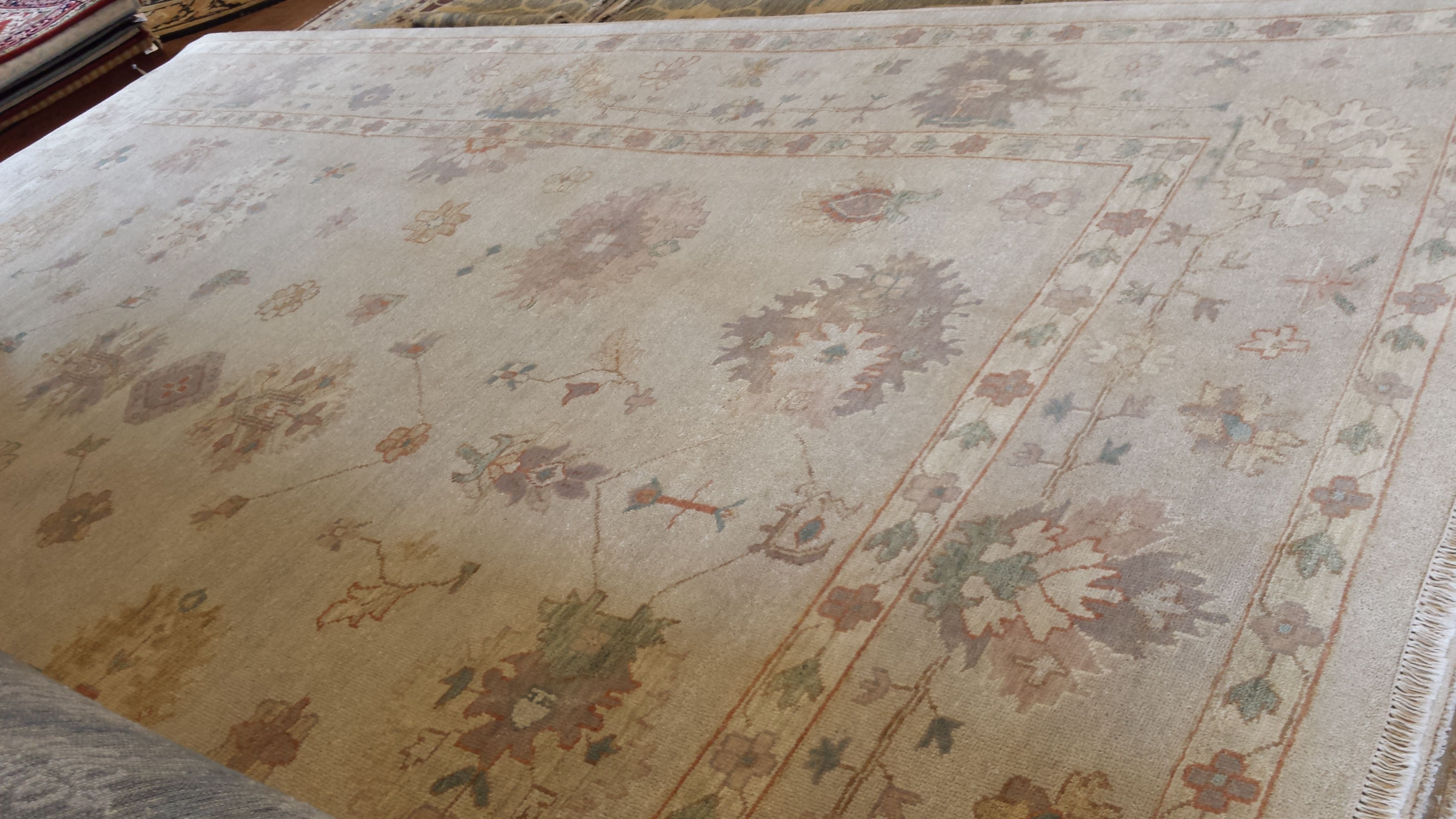 May Day Deal! 💃🏼 Vintage Oushak Oriental Rug  10.3 x 14.1  $2975 reduce from $6950 Call 205-870-4444 or drop by if it's for you!  Please share! 😇 #nilipourorientalrugs #MayDayDeal #familybusiness #since1972 #fullservice #shoplocal #happycustomer #artyoucantreadon #orientalrug #rug #arearug #naturalfibers #wholesaleprices #directimporting #affordableluxury #functionalrug #practicalrug #appeal #qualityrug #investment #conversationpiece #Lifestyle #rugcleaning #orientalrugcleaning #arearugcleani