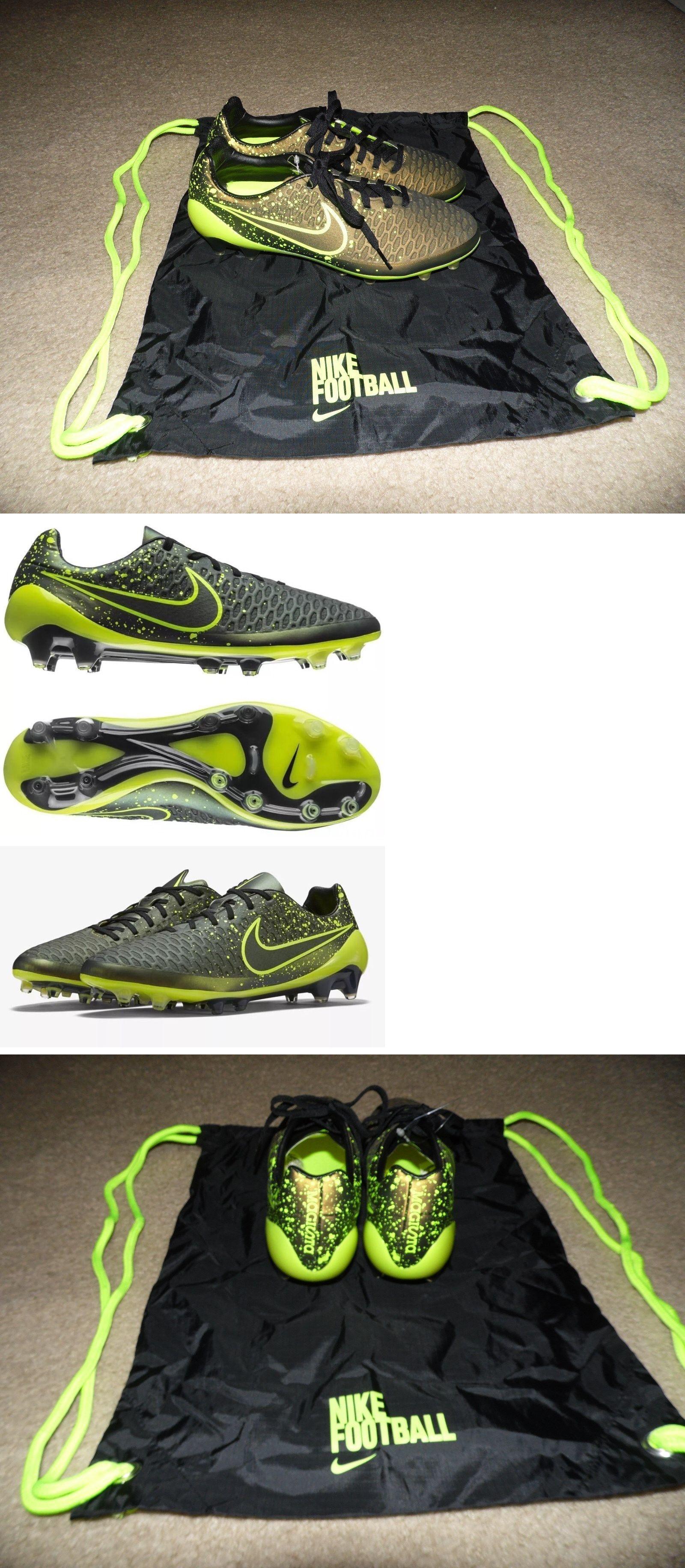 70ce6fc851f0 Men 109133  New Sz 6 Men S Nike Magista Opus Fg Dark Citron Volt Black