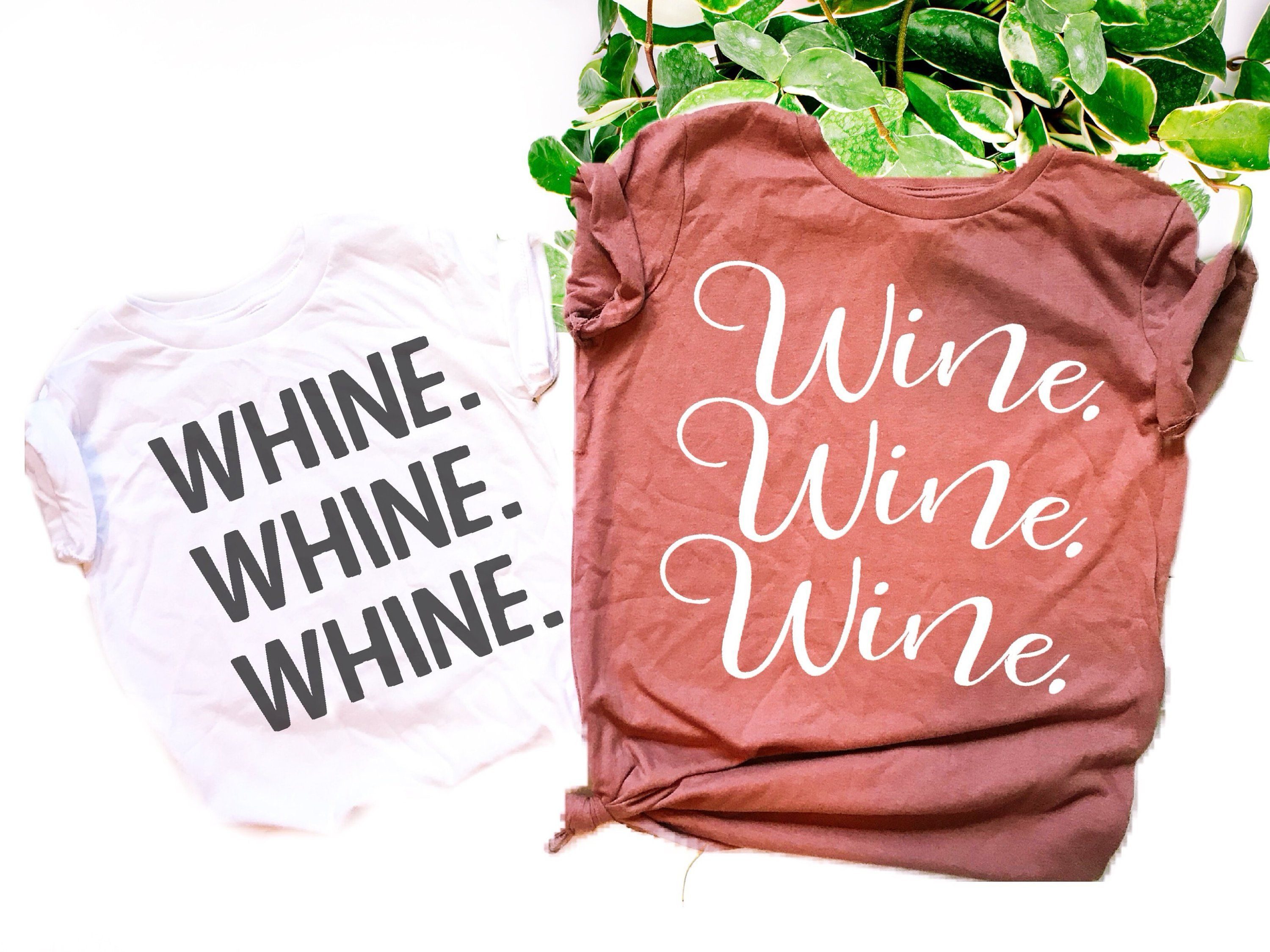 Mommy And Me Shirts Set Of 2 Wine Whine Mama And Me Matching Outfit Mother Daughter Shirt S Mommy And Me Shirt Mother Daughter Shirts Daughters Shirt