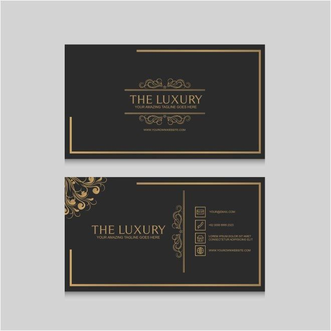 Free Vector Business Cards Template Httpcgvectorfree