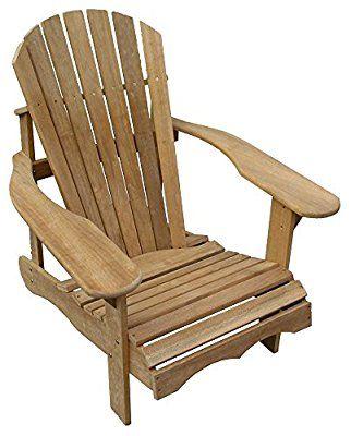 Bear chair bausatz  Cool Products Stuhl, Bausatz Adirondack Chair, beige, 91 x 75 x 91 ...
