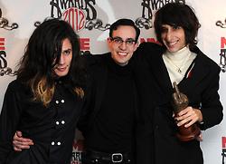 Joshua Hayward, Tom Cowan and Faris Badwan