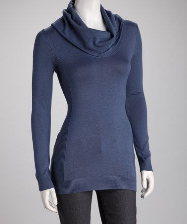 Take a look at this London State Cowl Neck Sweater by Women's Blow-Out Sale on #zulily today!