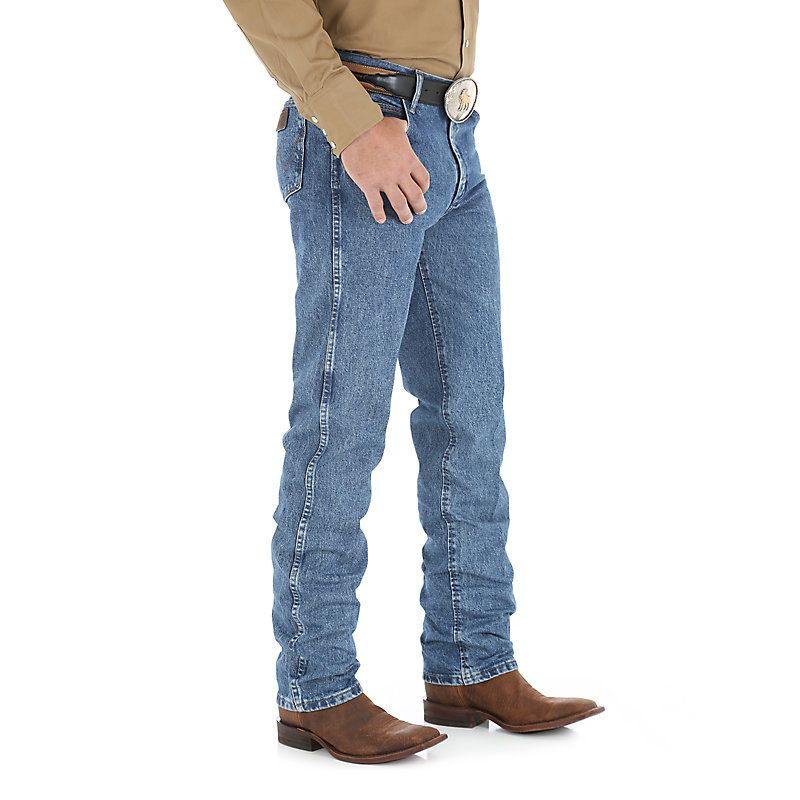 Wrangler Mens Big and Tall Premium Performance Cowboy Cut Slim Fit Jean Jeans