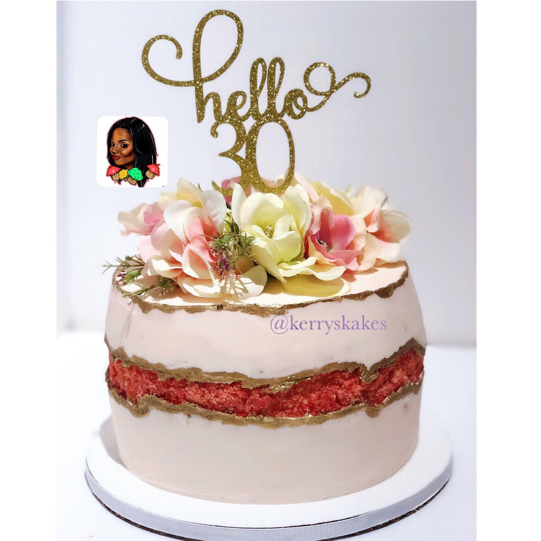 Fault line cake cake cake creations strawberry
