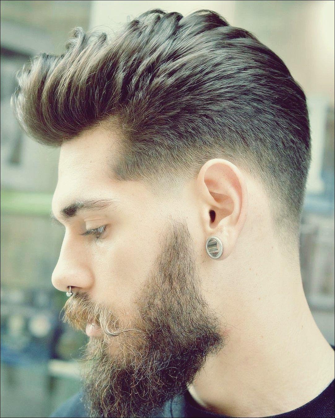 Herren Haarschnitt Hohe Stirn