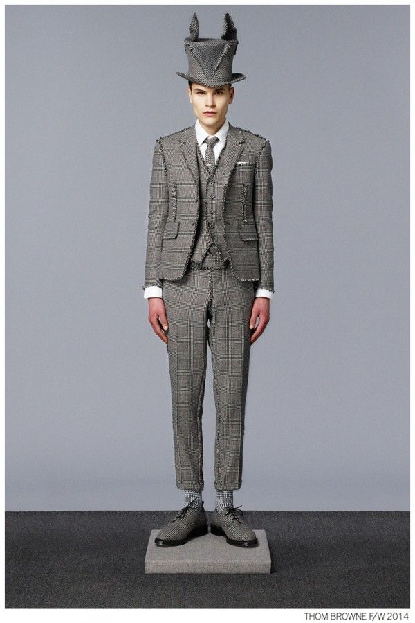 Thom Browne Fall/Winter 2014 Collection Look Book