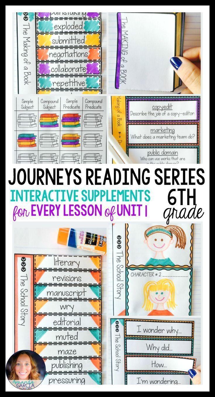 Journeys Grade  Unit  Bundle Supplemental Materials With