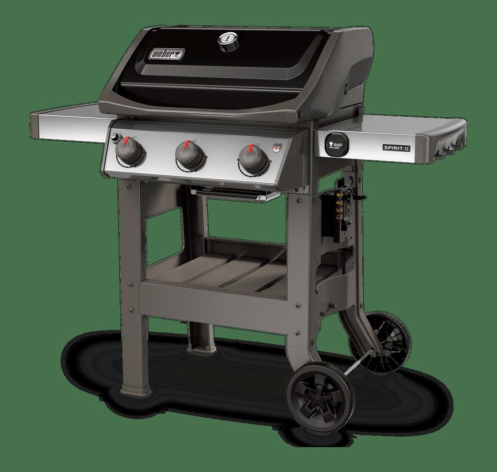 Spirit Ii E 310 Gas Grill Black Gas Grill Propane Grill Propane Gas Grill