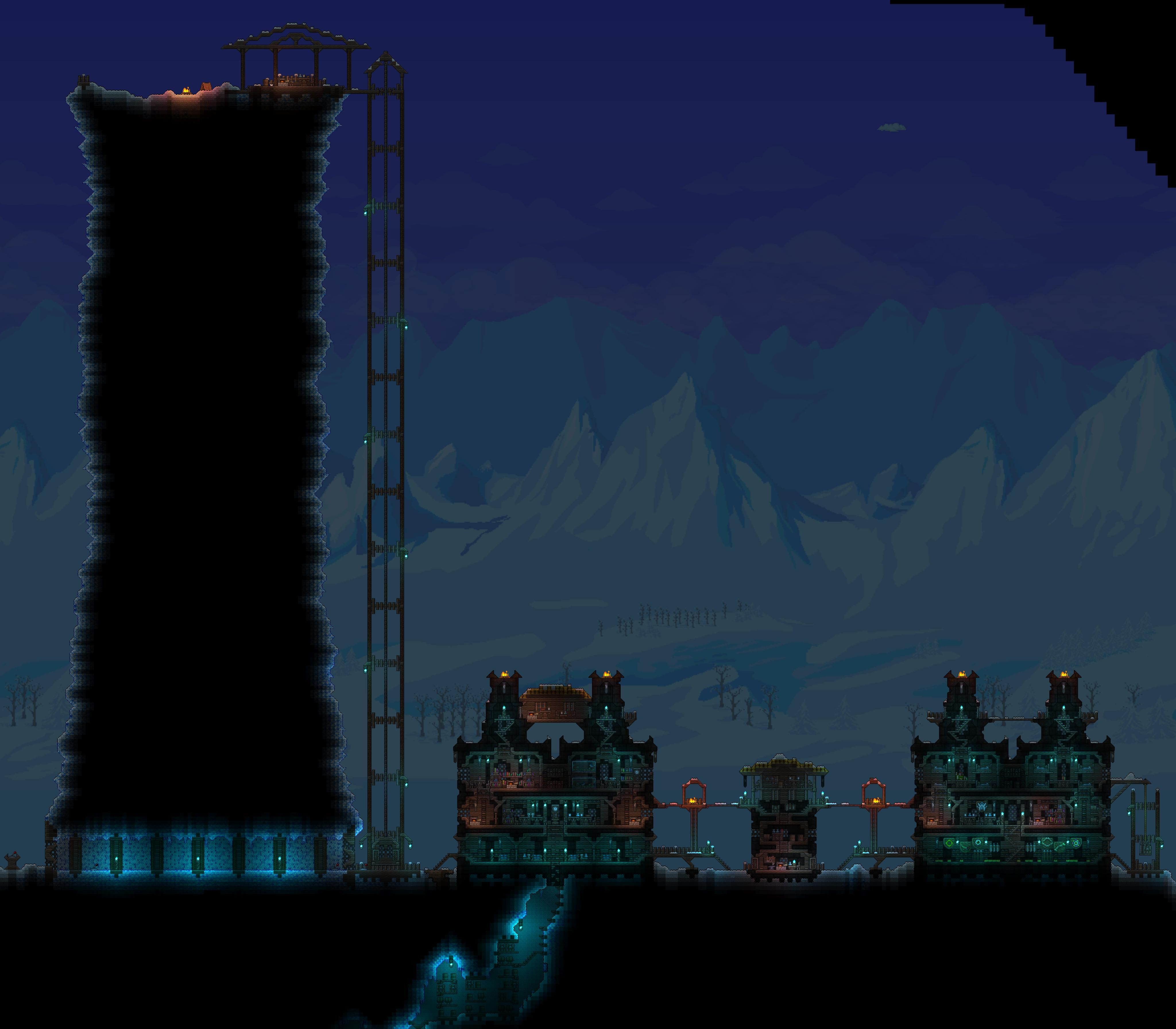 The wall & Castle black - http://forums.terraria.org/index.php?threads/tenthys-creations.26450/