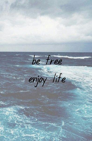 Be Free Enjoy Life Life Quotes Wallpaper Quotes Enjoy Life